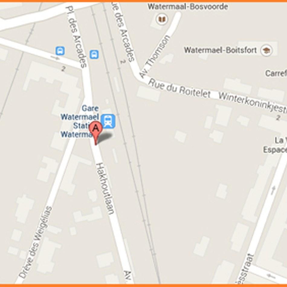 plan Gare Watermael